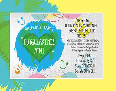 TUHİD Altın Pusula Yarışması Sosyal Sorumluluk Projesi