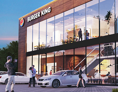 Burger King Drive Thru Concept in Piaseczno, Poland