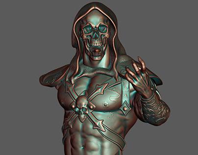 Skeletor Bust from He-Man
