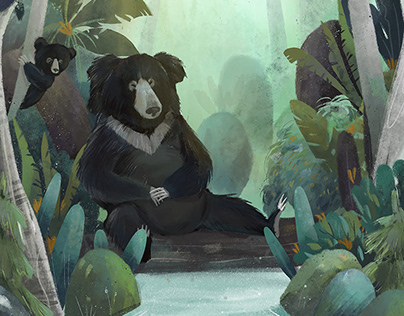 World bear day: art for impact