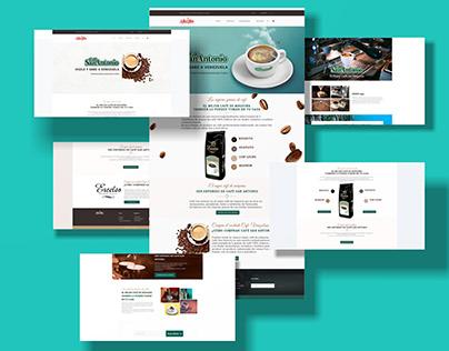 Web Design - Café San Antonio