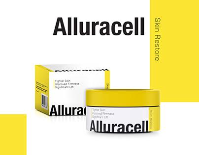 Alluracell Packaging Design