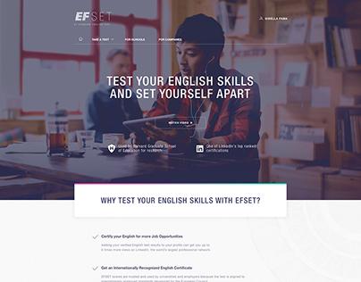 EFSET - EF Standard English Test
