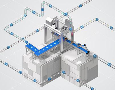 Bitrobotics - Wrap Around Case Packer