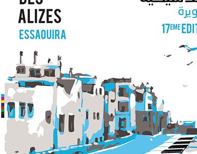 Affiche festival printemps Musical des Alizés - Rabat
