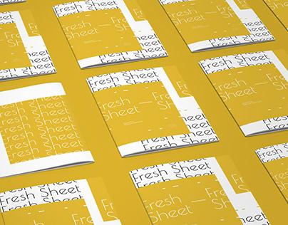 Cookbook Design 新鲜点单 - 食谱书籍设计