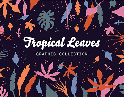 Tropical Leaves — Graphic Collection