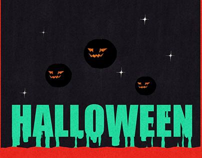 Retro mood halloween gif