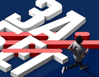 Забег — One Run | Logo and branding