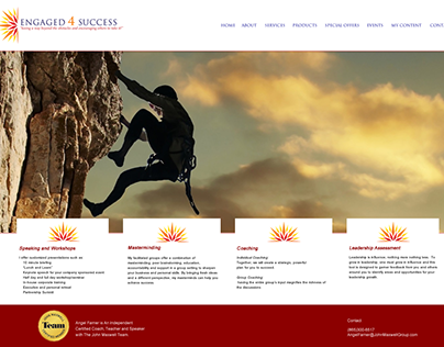 Engaged 4 Success Website Design