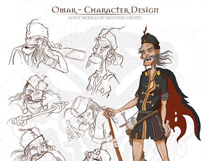 Character Design - Prince Omar