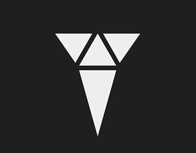 Tri-angle branding / social media