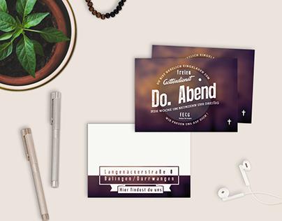 Free Invitation-Card/ Flyer Mockup