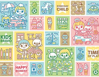 Children's daily life