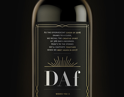 Holiday Greetings from DAf