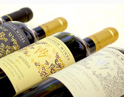 Balogh Wines Labels