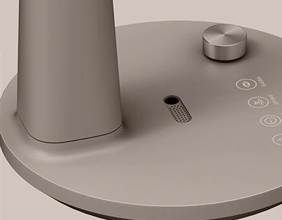 AA lighting eye protection table lamp design