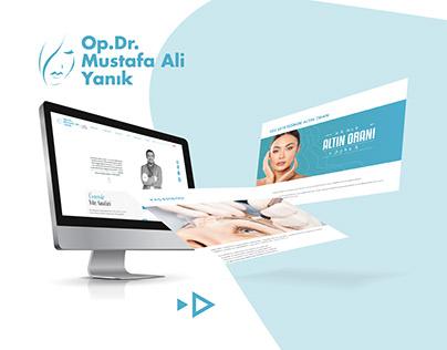 Op.Dr.Mustafa Ali Yanık Web & Social Media Design