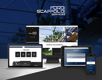 FORD SCAFFOLDING | Brand Design | Website Design