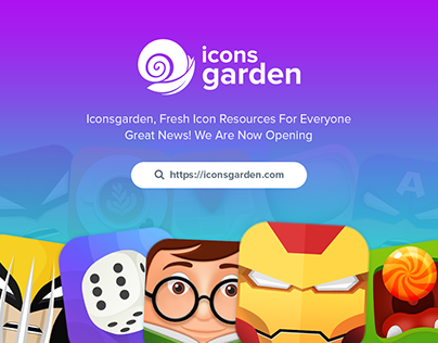 ICONSGARDEN IS NOW OPENING