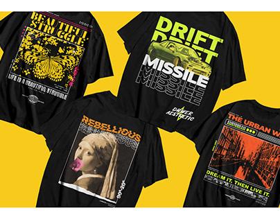 T-Shirt Design Modern Style