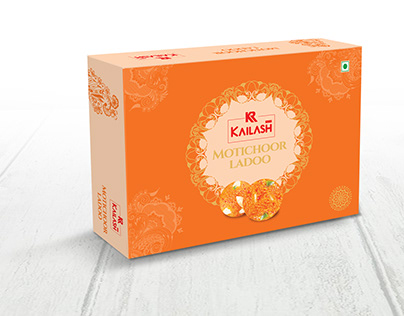 Kailash Sweets Packaging Design | Surat
