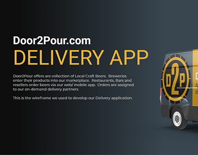 D2P Delivery Application