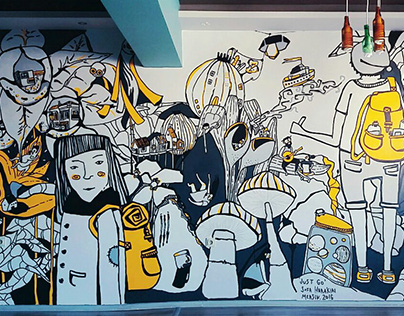 just go     the Mersin mural