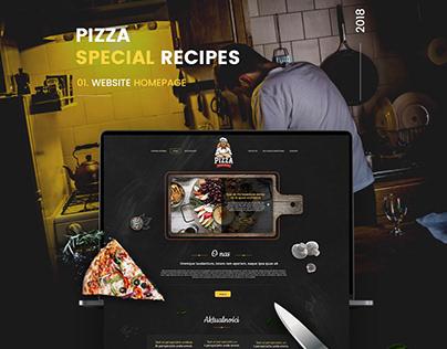 Restaurant - Web design