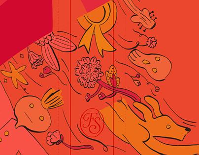 Howl's Moving Castle illustrations