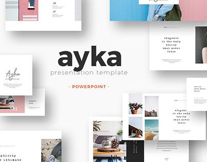 Ayka Presentation Template