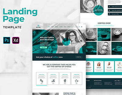 Landing Pages – Nature Coffee