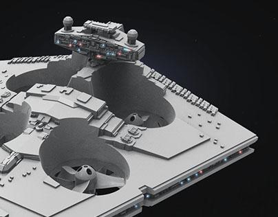 STAR WARS - Star Destroyer Drone