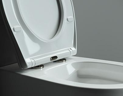 Ceramica_NOVA - Toilet. Collection: Pearl.
