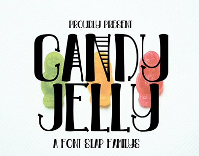 Candy jelly font