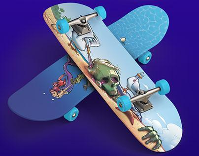 Skate Prints Illustrations
