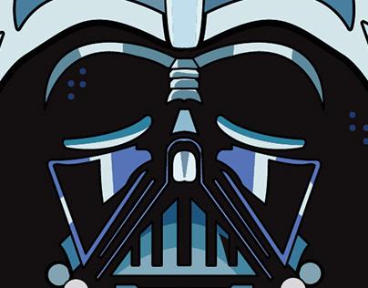 Star wars illustration set