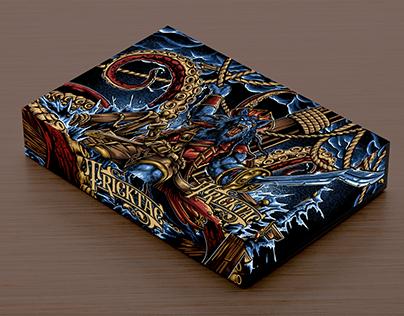Pirate Wolf - Overprint T-Shirt Design