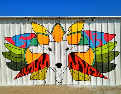 Goat Farm Wall Art