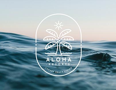 Brand Design Aloha Resorts - Luxury Beach Living
