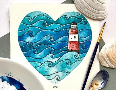All I Love - illustrations.