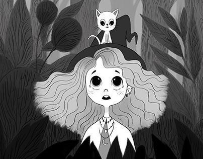 Inktober 2018- Little witch