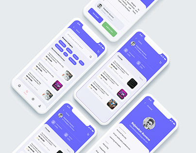 Online Course Learning portal-Web & Mobile Apps Designs