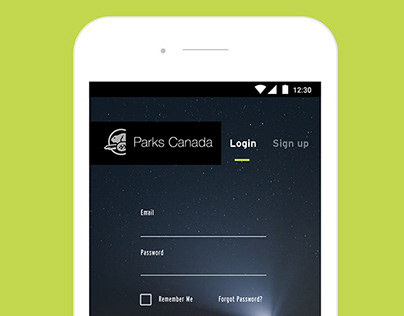 Parks Canada Camping Reservation App