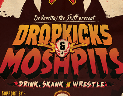 Dropkicks & Moshpits Poster