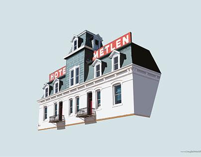 Hotel Metlen, Dillon, Montana
