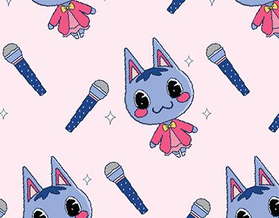 Rosie the aspiring songstress / Fan art
