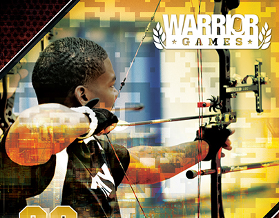 2015 Warrior Games Poster