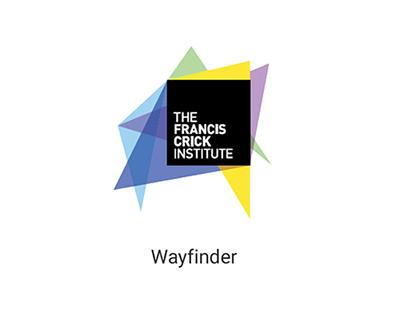 The Francis Crick Institute Mobile Wayfinder App