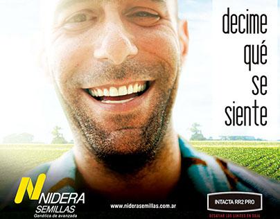 Campaña - Nidera Semillas- Producto Soja BT